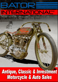 Bator International Classic Motorcycle Sales