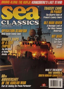 sea classics august 2010 featuring operation starfish, ghost ships and more