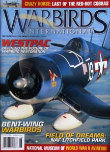 warbirds international featuring Bent Wing Warbirds